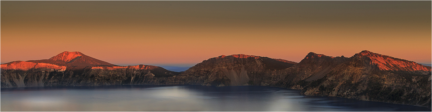A18 Dawn at Crater Lake