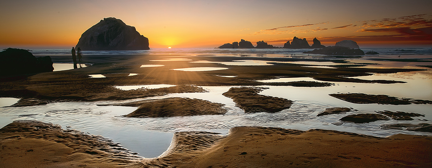 Bandon Beach Sunset web