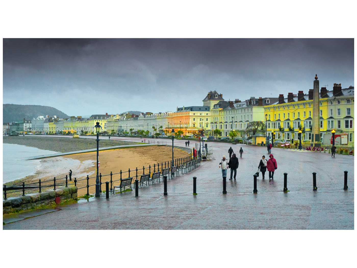 Chris Hutchinson Llandudno in the Rain