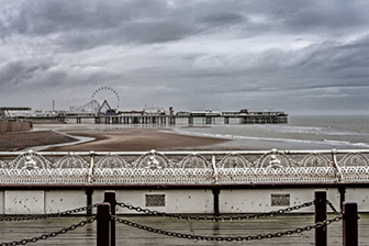 Cold day at Blackpool