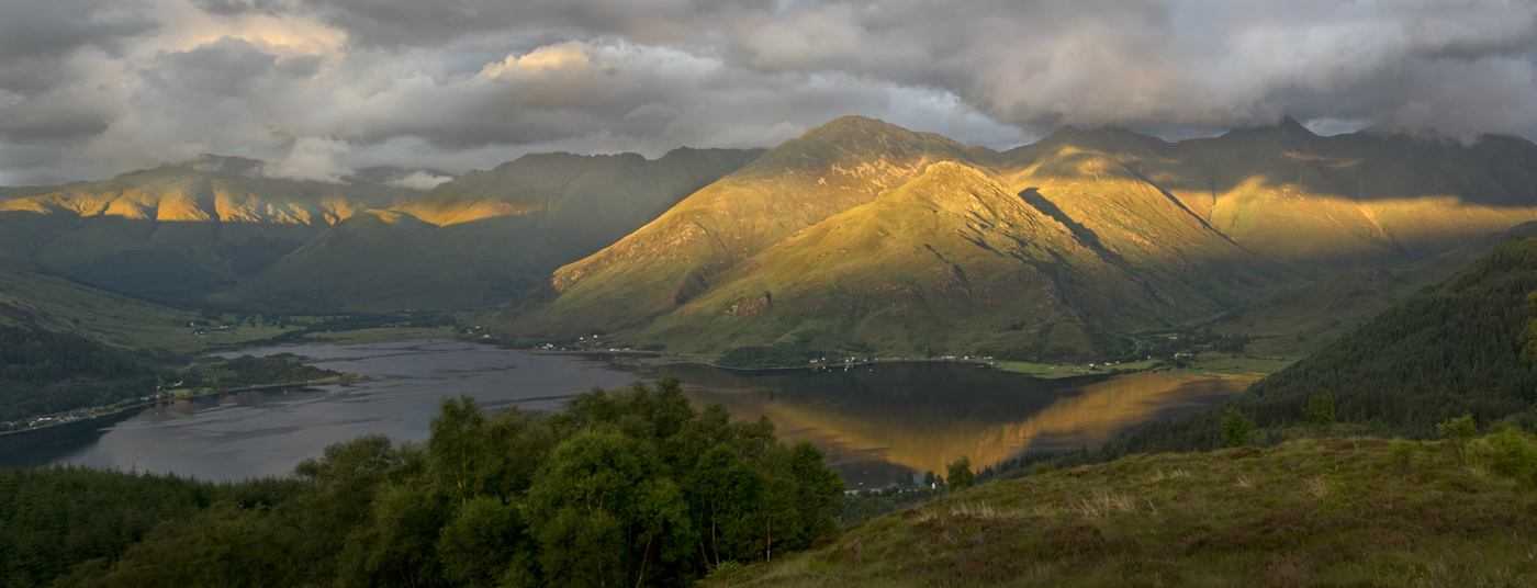 The 5 Sisters of Kintail Glenshiel