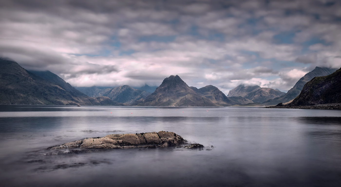 The Black Cuillins from Elgol Skye