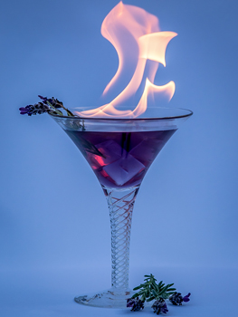 Lavender Martini small